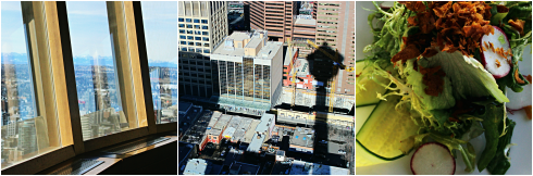 sky 360 restaurant calgary tower alberta