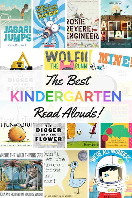 The Best Kindergarten Read Alouds #picturebooks #readaloud #kindergarten #childrenslit #books #kidsbooks