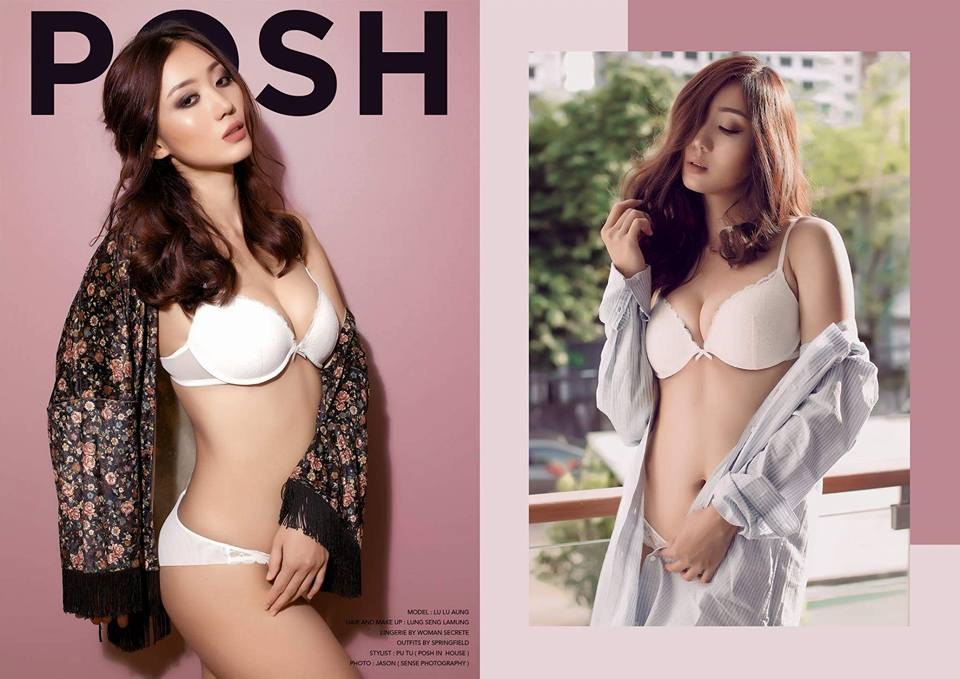 Lu Lu Aung Features in New Incredible Photoshoot of Posh Magazine