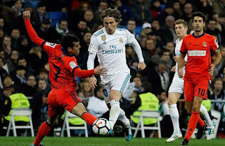 Watch Real Madrid vs Real Sociedad live Stream Today 6/1/2019 online Spain Primera Division