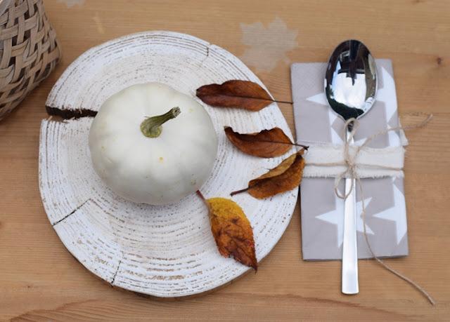 Tischdeko im Herbst