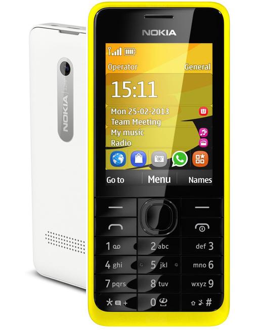 Nokia 301 Pictures