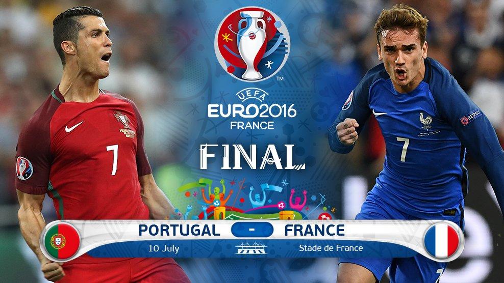 Jadwal Final Piala Eropa 2016 (Euro 2016)