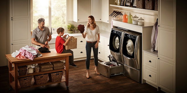 Save up to $500 on an LG Laundry Solution.