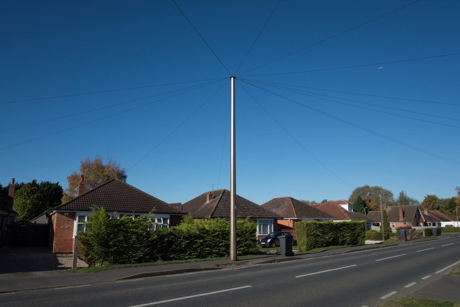 Telegraph pole - Ruskington