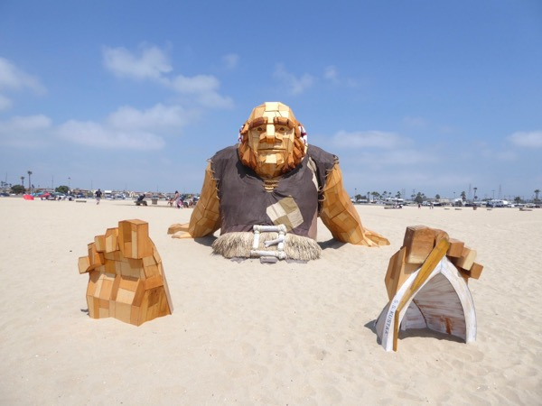 Clash of Clans Giant Huntington Beach