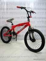 1 Sepeda BMX PACIFIC 2058 Free Style 20 Inci