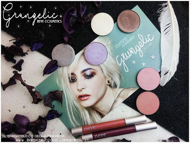 Grungelic collection Neve cosmetics  opinioni recensione, pareri, makeup, consigli, comparazioni