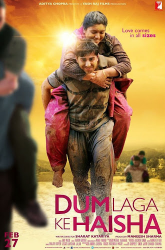 Dum Laga Ke Haisha (2015) Movie Poster No. 1