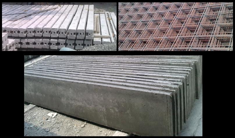 Dinding beton Precast Concrete atau Beton Pracetak