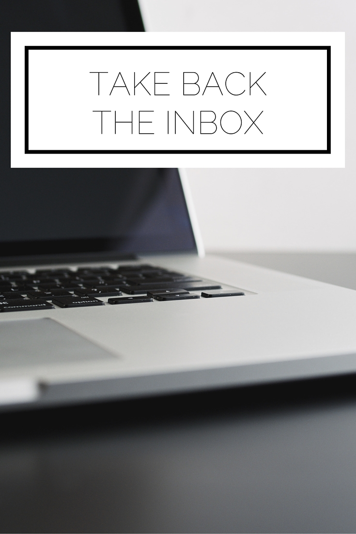 Click to read now or pin to save for later! Is your inbox a place of stress and overwhelm? Here's how to take back control!