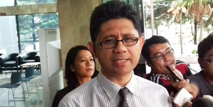 Wakil Ketua KPK La Ode Muhamad Syarif.