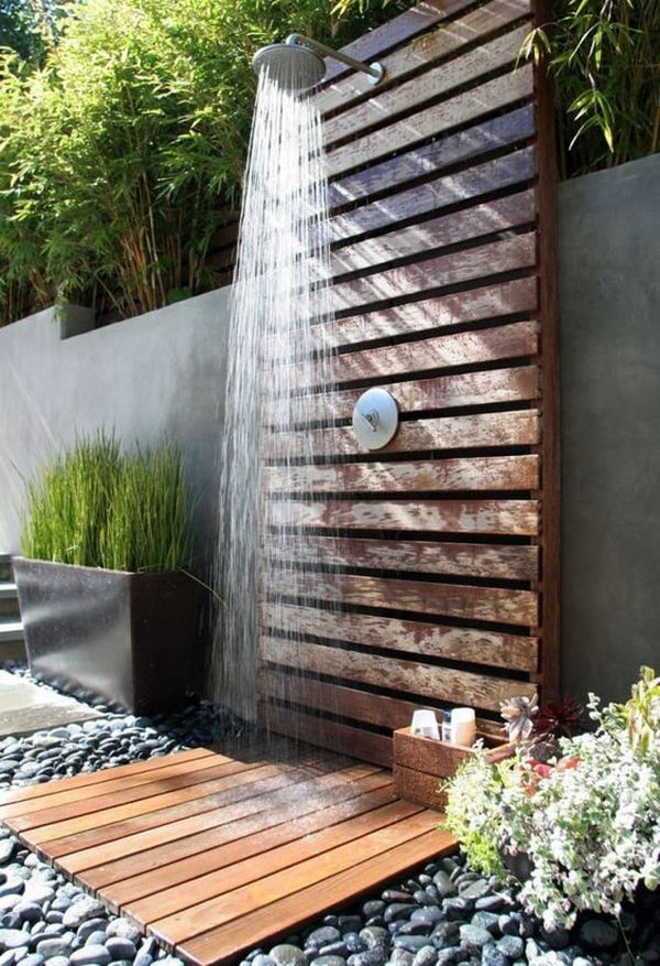 Fall In Love With Outdoor Showers - How To Build 3