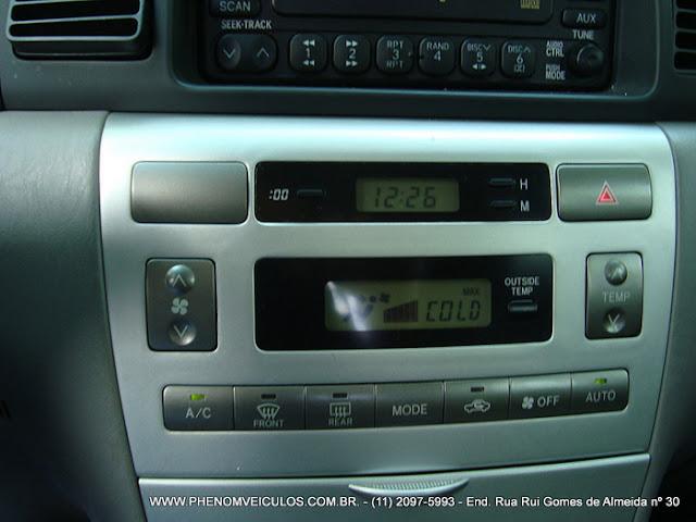 Toyota Corolla SE-G 2007 - ar-condicionado digital