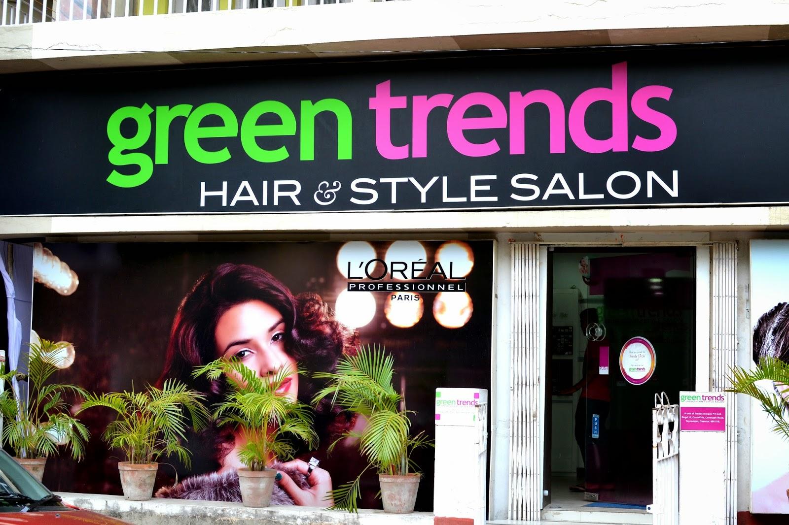 N Style Hair Salon: Summer Glow Facial At Green Trends Hair & Style Salon