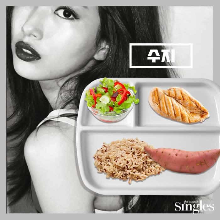 Корейские девушки диета