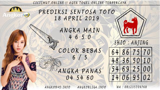Prediksi Angka Jitu SENTOSA TOTO 18 APRIL 2019