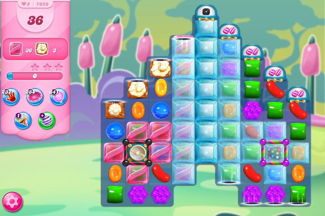 Candy Crush Saga level 7656