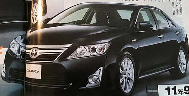 electric cars piece of headlights of the toyota camry 2012. Black Bedroom Furniture Sets. Home Design Ideas