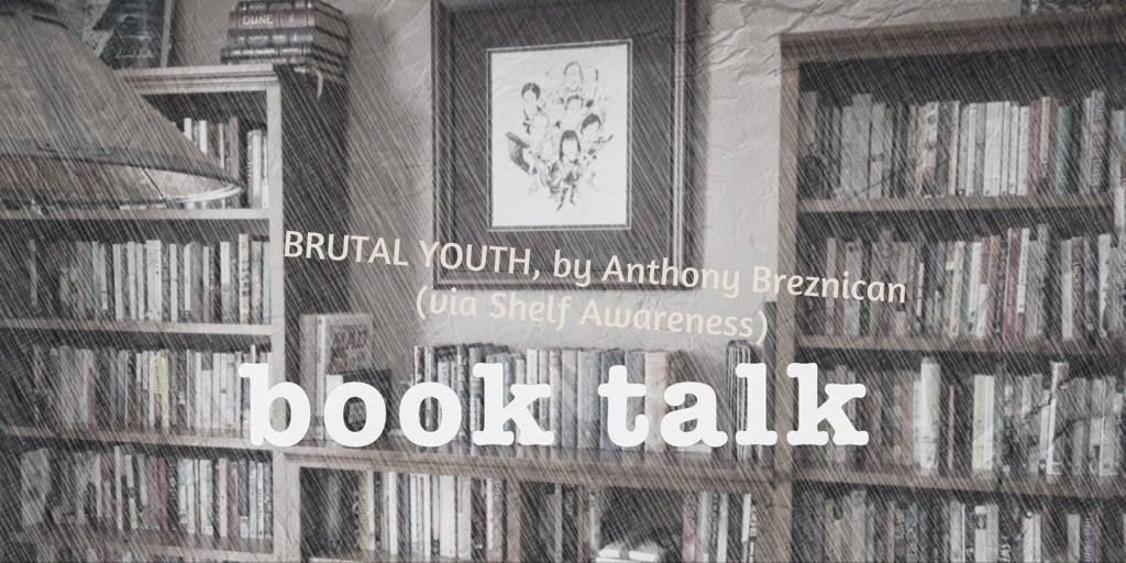 Book discussion: BRUTAL yOUTH by Anthony Breznican, on The 3 R's Blog