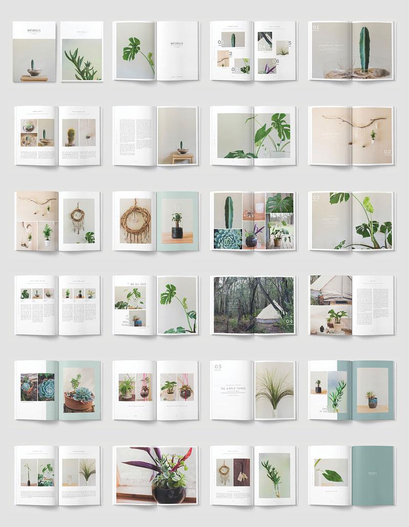 Inspirasi 20 Desain Brosur Dan Katalog Atau Company