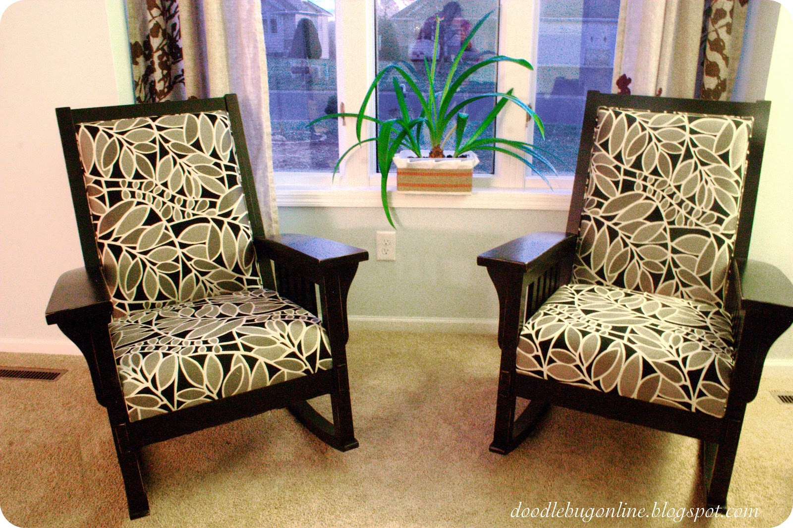 Doodle Bug Mission Style Rocking Chairs