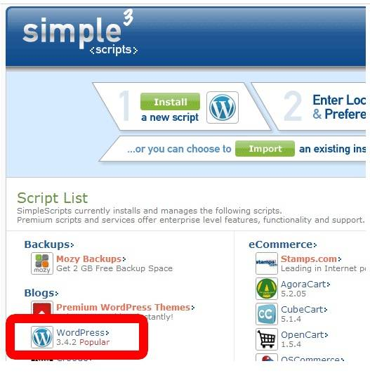Learn Wordpress Step by Step