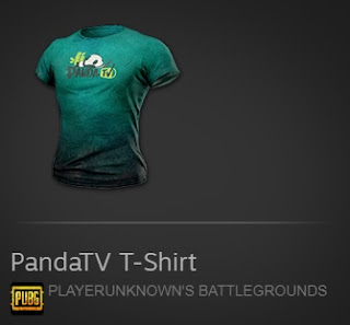 PandaTV Shirt Codes PUBG ~ Pinoy Game Store - Online Gaming Store in