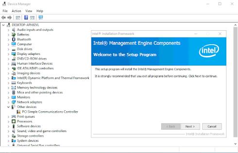 Intel Management Engine Interface - Shutdown máy tính nhưng máy vẫn còn sáng đèn nguồn