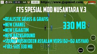 FTS Mod NUSANTARA v3 by Jihar Apk Data Obb