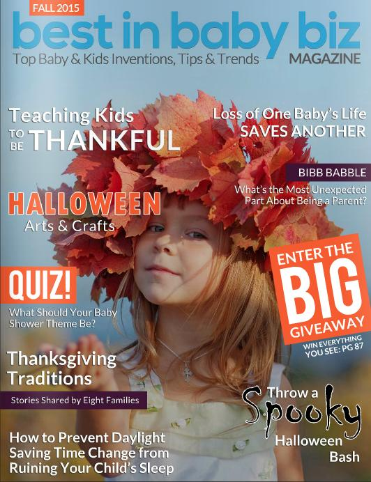 Genesis 950 was featured in the Fall 2015 Issue of Best In Baby Biz