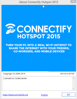 Connectify Hotspot pro 2015 cracked