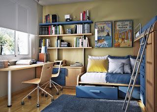 Советы дизайнера по обустройству комнаты для школьника