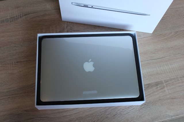 MacBook Air in de doos