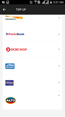 bank pembayaran go pay
