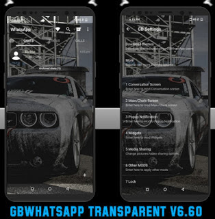 GBWhatsApp Transparent v6.60