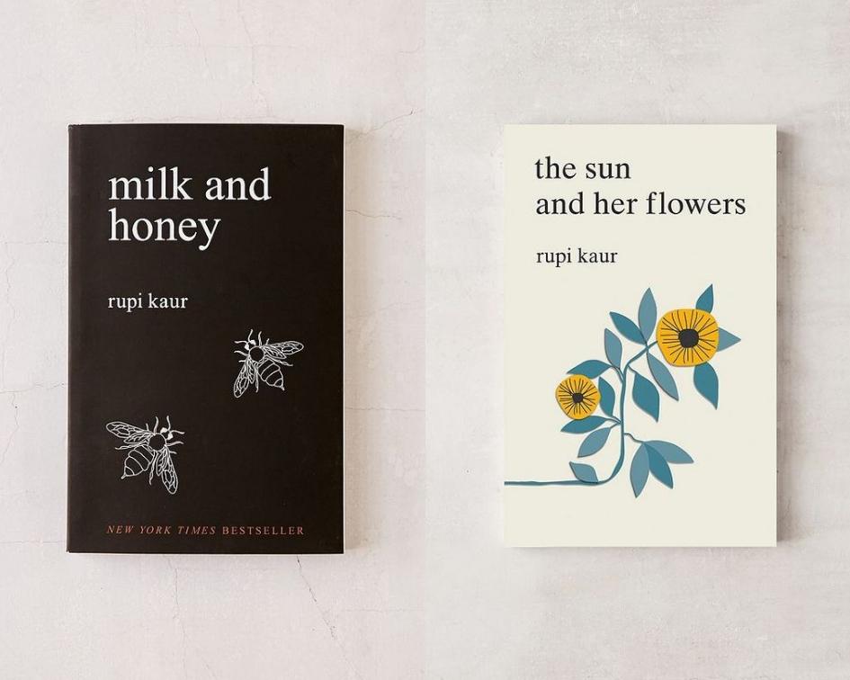 2 livros de Rupi Kaur que adorava ler!