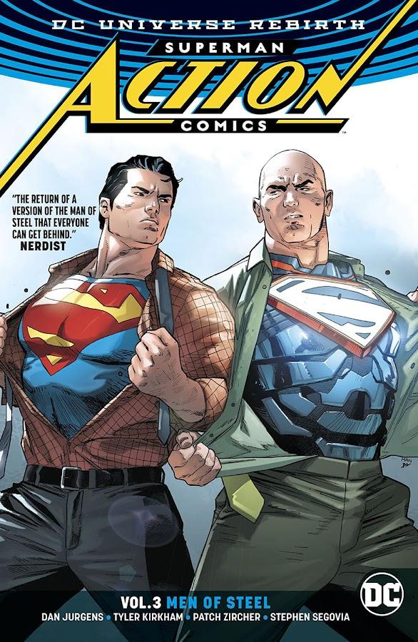 superman lex luthor action comics rebirth