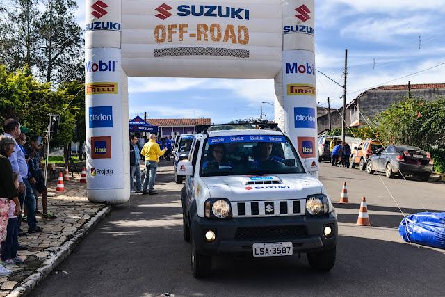 Rally de regularidade Suzuki Off-Road terá provas em São Paulo, Goiás, Santa Catarina e Ceará