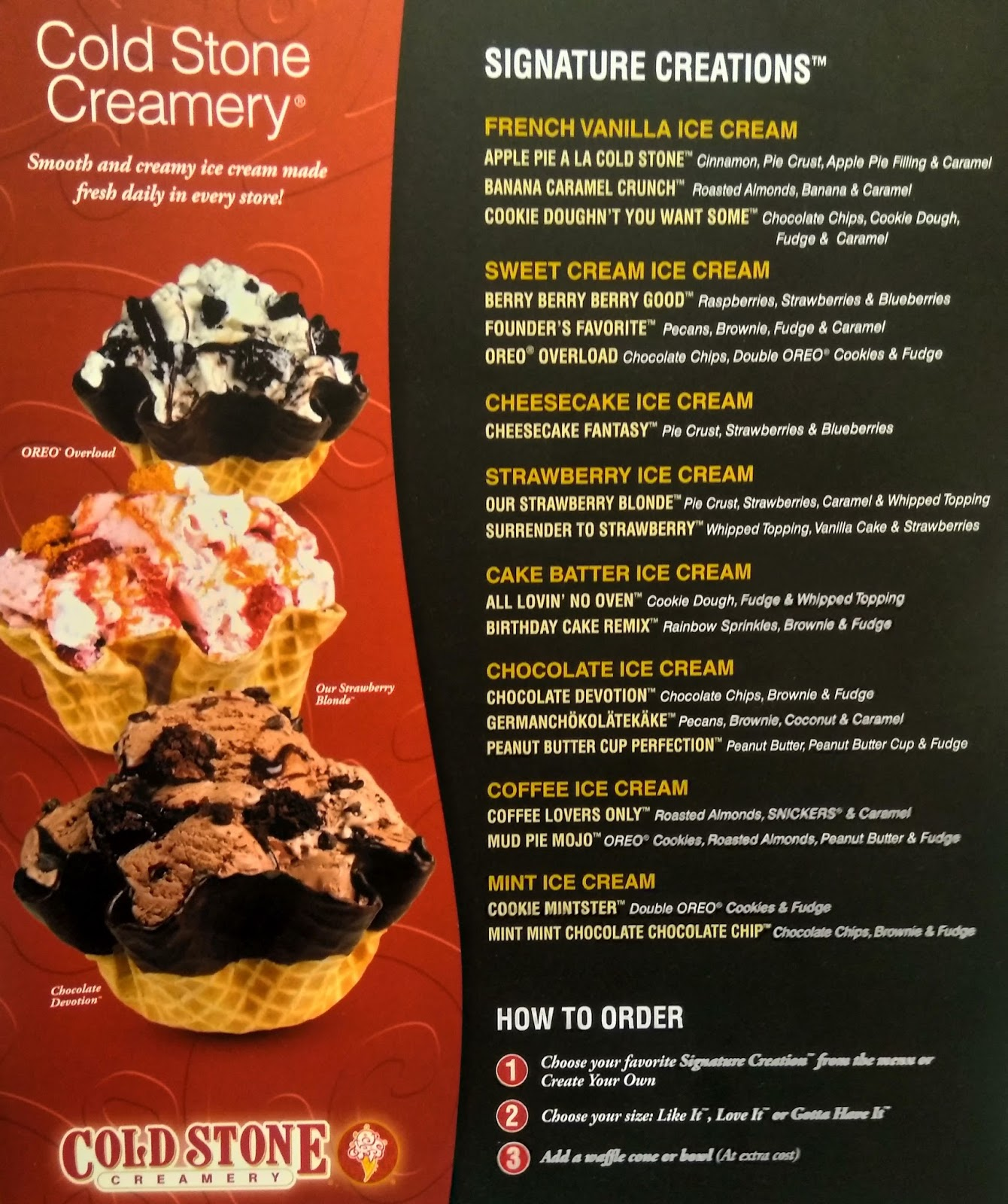 Cold stone creamery redefining an icecream experience marketing signature creations coldstone creamery india ccuart