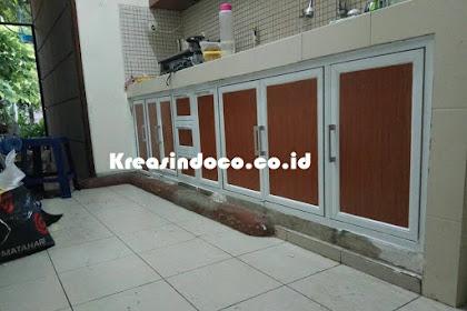 Repeat Order Bpk Yudhistira Pembuatan Kitchen Set Di Jakarta Timur