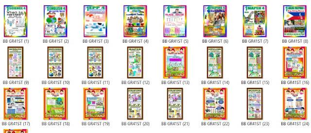 Display Bulletin Boards For Grades 1 6 1st 4th Quarter