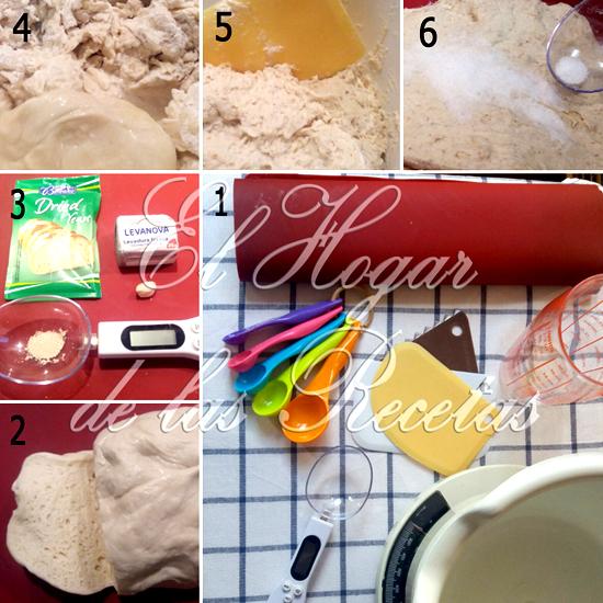 Hacer pan paso a paso: Utensilios, levaduras y masa de arranque o masa madre