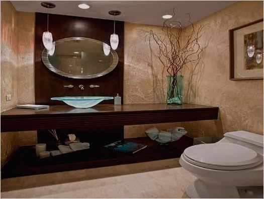 Elegant Half Bathroom Ideas