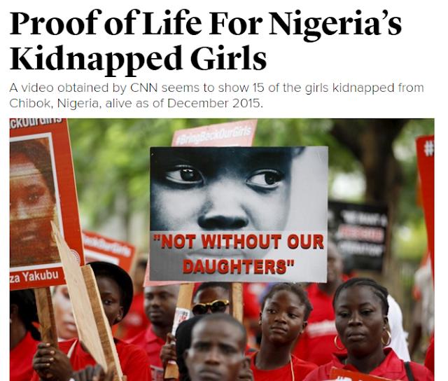 Nigeria's Proof Of Life Video teaches Us