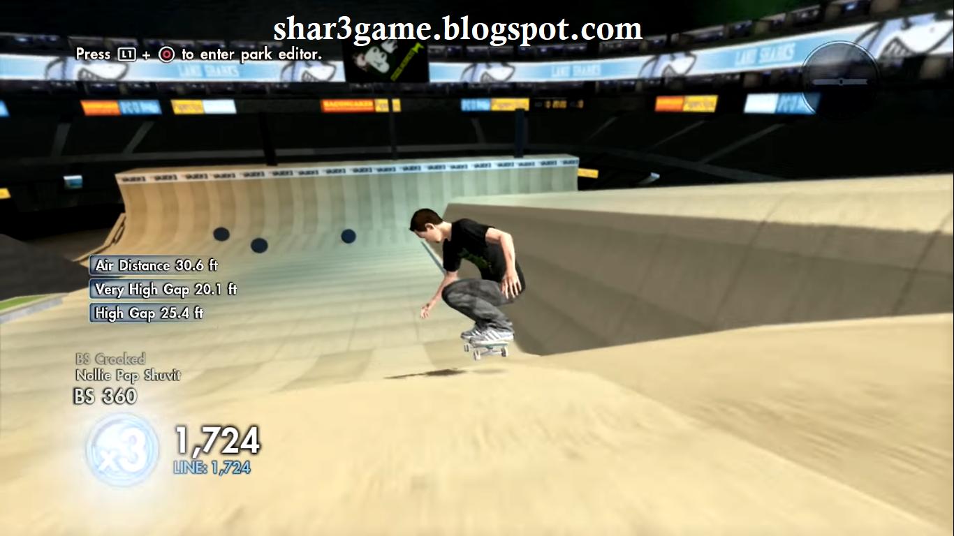 SHAR3GAME - Free Download Game + DLC PKG PS3: Skate 3 PKG PS3
