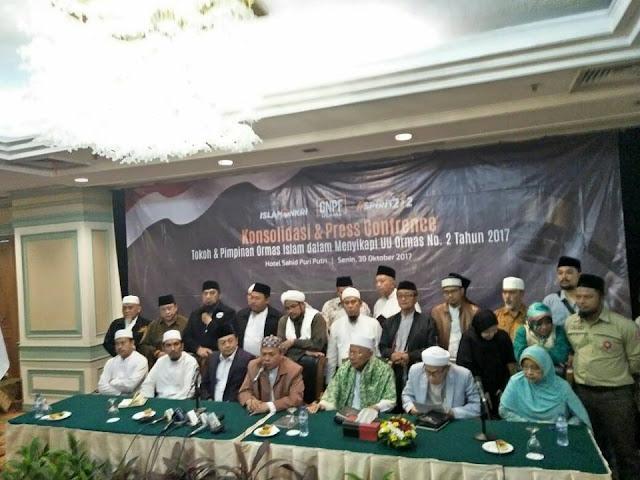 GNPF Ulama Serukan Umat Islam tidak Pilih Partai yang Setuju Perppu Ormas Jadi UU