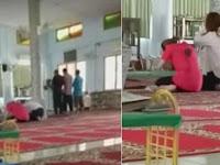 Video: Orang Budha Ini Sembahyang di Masjid, Yang Dilakukan Takmir Bikin Salut