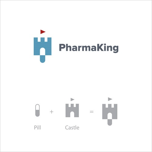 Logo Example - Pharma King
