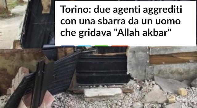 إيطاليا ..رجلي أمن يتعرضان للإعتداء بمدينة طورينو من طرف شخص كان يسب سالفيني ويصرخ...